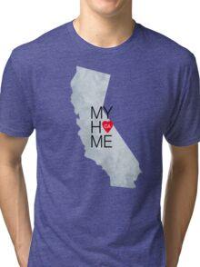 California home sticker Tri-blend T-Shirt
