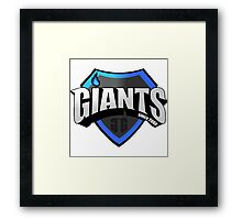 GIANTS EU LCS 2016 Framed Print