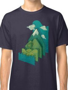 How to Build a Landscape Classic T-Shirt