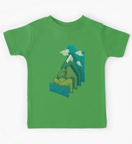 How to Build a Landscape Kids Tee
