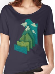 How to Build a Landscape Women's Relaxed Fit T-Shirt