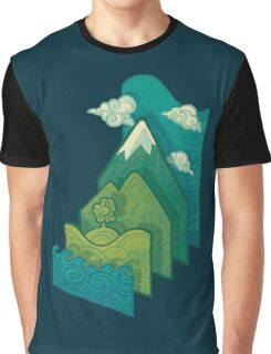 How to Build a Landscape Graphic T-Shirt
