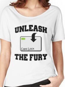 Unleash the fury Women's Relaxed Fit T-Shirt