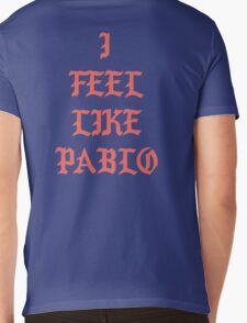 I FEEL LIKE PABLO - Large Mens V-Neck T-Shirt