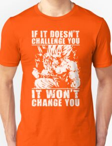 Challenge and Change (Goku) T-Shirt