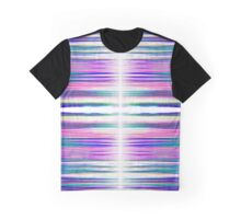 Colourful ragged lines pattern Graphic T-Shirt