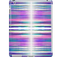 Colourful ragged lines pattern iPad Case/Skin