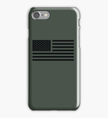 American Flag Tactical iPhone Case/Skin