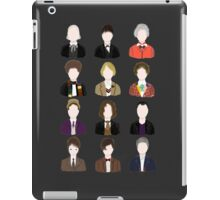 Twelve Doctors. iPad Case/Skin