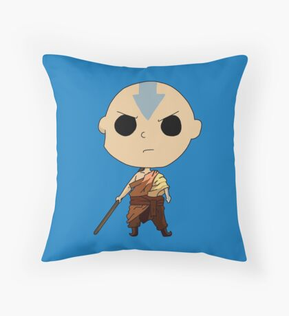 Aang - The Last Airbender Throw Pillow