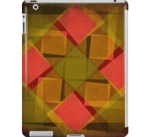 Vintage diamonds and squares pattern iPad Case/Skin