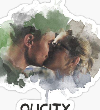Olicity - Arrow - Kiss Sticker