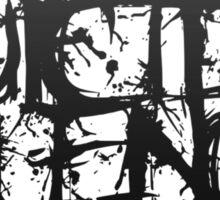 Suicide Silence Black Logo Sticker