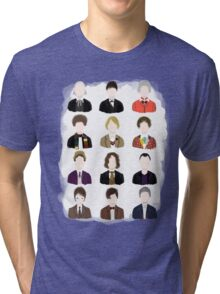 Twelve Doctors. Tri-blend T-Shirt