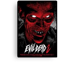 Evil Dead Poster Canvas Print