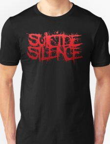 Suicide Silence Red Logo T-Shirt