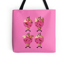 Pink Snorklers in Watermelon spots Tote Bag