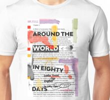 Around the world in eighty days - collage - chapter3 Unisex T-Shirt