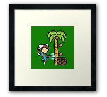 Street Coconuts Framed Print