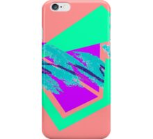90's abstract vaporwave aesthetics iPhone Case/Skin