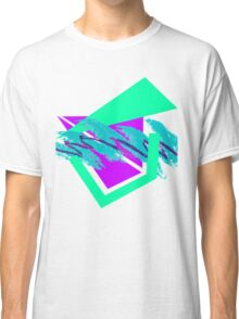 90's abstract vaporwave aesthetics Classic T-Shirt