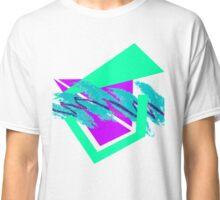 90's abstract vaporwave aesthetics Classic T-Shirt