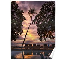 Pacific Sunset I Poster
