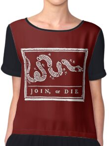 Join or Die Chiffon Top