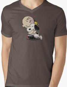 Everything Will Be Okay Peanuts Mens V-Neck T-Shirt