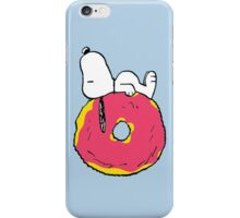 snoopy love donuts iPhone Case/Skin