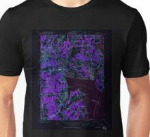 USGS TOPO Map Rhode Island RI East Greenwich 353279 1942 24000 Inverted Unisex T-Shirt