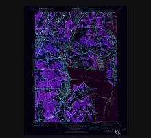 USGS TOPO Map Rhode Island RI East Greenwich 353279 1942 24000 Inverted T-Shirt