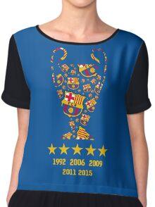 FC Barcelona - Champion League Winners Chiffon Top