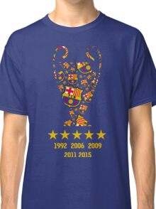 FC Barcelona - Champion League Winners Classic T-Shirt