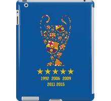 FC Barcelona - Champion League Winners iPad Case/Skin
