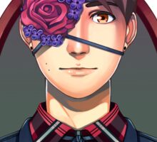 Flowers and Hat! Dan Sticker
