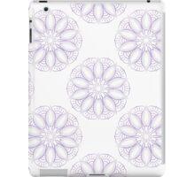 Violet lotus pattern iPad Case/Skin