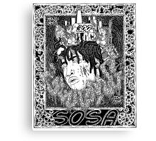 Chief Keef Sosa Canvas Print