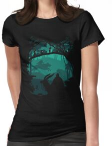 Princess Mononoke - Princess Of Forest Womens Fitted T-Shirt