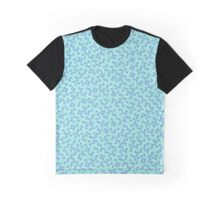 Monogram C Teal Graphic T-Shirt