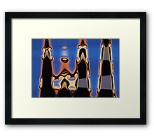 Color Abstraction XLIII Framed Print
