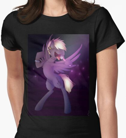 Punk/Rock pony Womens Fitted T-Shirt