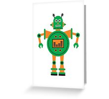 a humanoid 3 Greeting Card