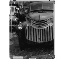 Two Old Trucks BW iPad Case/Skin