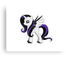 Cute pony design Canvas Print