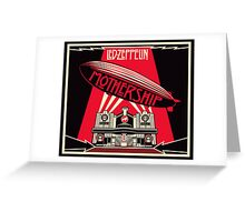 Led zepplin album Greeting Card