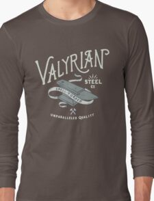 Game of thrones Valyrian Steel Long Sleeve T-Shirt