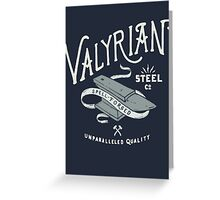 Game of thrones Valyrian Steel Greeting Card
