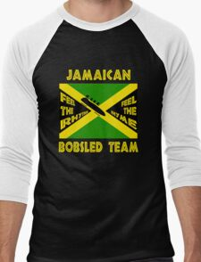 Jamaican Bobsled Team Men's Baseball ¾ T-Shirt