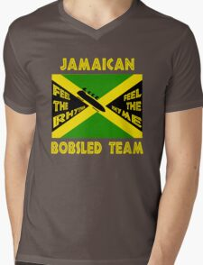 Jamaican Bobsled Team Mens V-Neck T-Shirt
